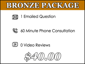 Bronze Dog Training Package