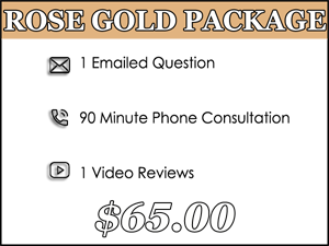 Rose Gold Dog Training Package